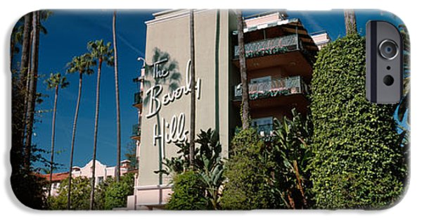 Trees In Front Of A Hotel, Beverly IPhone 6s Case by Panoramic Images