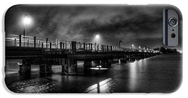 Trestle Trail At Night IPhone Case by Thomas Young