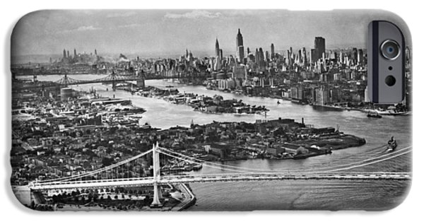 Triborough Bridge Is Completed IPhone 6s Case by Underwood Archives