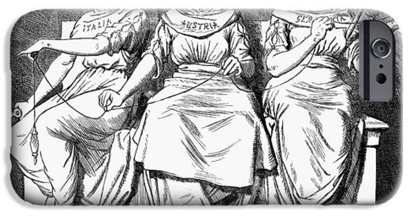 Triple Alliance, 1888 IPhone Case by Granger