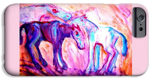 We Are A Family And We Will Not Split Up  IPhone Case by Hilde Widerberg