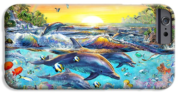 Tropical Cove IPhone Case by Adrian Chesterman