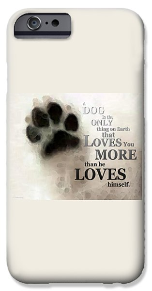 True Love - By Sharon Cummings Words By Billings IPhone 6s Case by Sharon Cummings