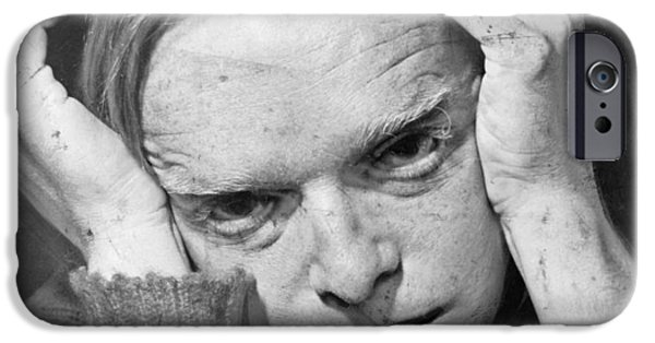 Truman Capote IPhone Case by Mountain Dreams