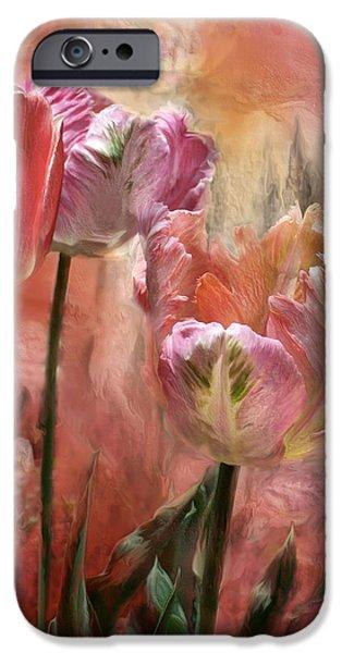 Tulips - Colors Of Love IPhone 6s Case by Carol Cavalaris