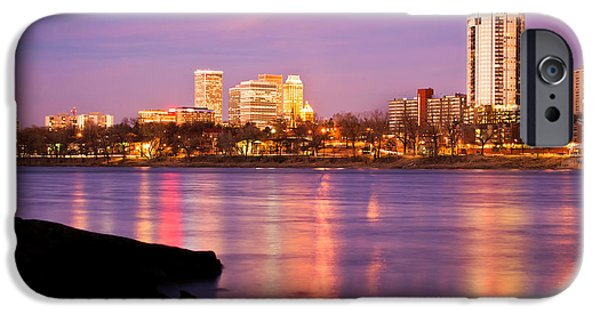 Tulsa Oklahoma - University Tower View IPhone 6s Case by Gregory Ballos