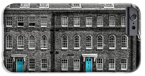 Turquoise Doors At Tower Of London's Old Hospital Block IPhone 6s Case by James Udall