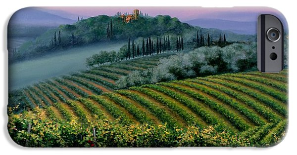 Tuscan Dusk IPhone Case by Michael Swanson