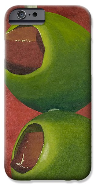 Two Olives In Search Of A Bloody Mary IPhone 6s Case by Garry McMichael