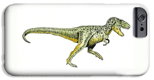 Tyrannosaurus Rex IPhone 6s Case by Michael Vigliotti