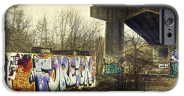 Under The Locust Street Bridge IPhone Case by Scott Norris