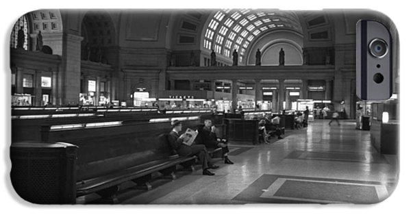 Union Station Washington D.c. - 1963 IPhone Case by Mountain Dreams