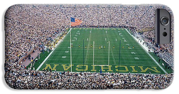 University Of Michigan Football Game IPhone 6s Case by Panoramic Images
