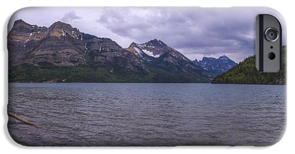 Upper Waterton Lake IPhone Case by Chad Dutson