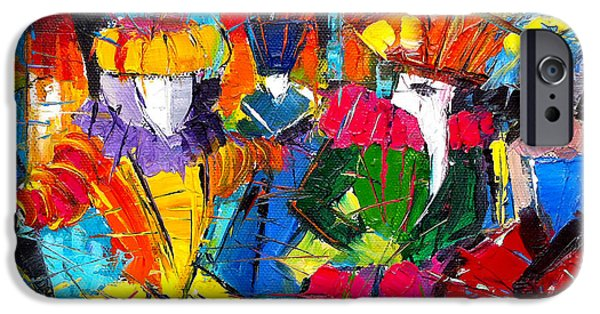Urban Story - The Carnival 2 IPhone Case by Mona Edulesco