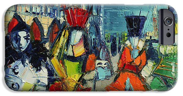 Urban Story - The Carnival IPhone Case by Mona Edulesco