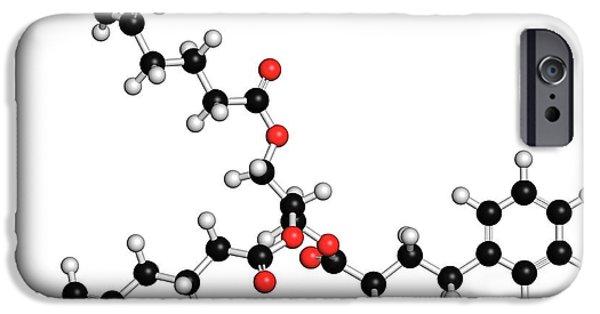 Urea Cycle Disorder Drug Molecule IPhone Case by Molekuul