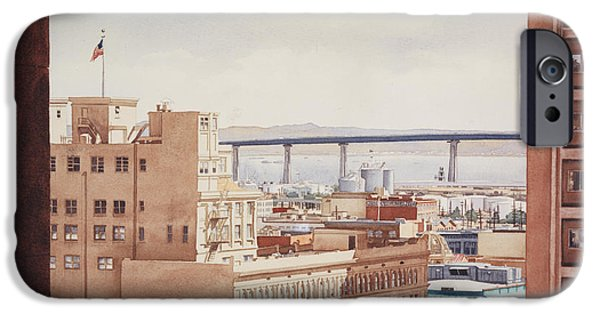 Us Grant Hotel In San Diego IPhone Case by Mary Helmreich