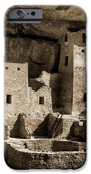Usa, Colorado, Mesa Verde National Park IPhone Case by Ann Collins