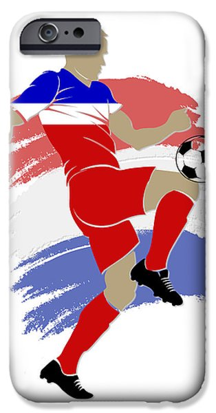 Usa Soccer Player IPhone 6s Case by Joe Hamilton