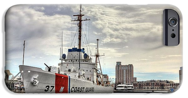 Uscg Cutter Taney IPhone Case by JC Findley