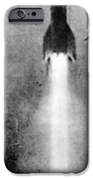 V-2 Rocket Launch IPhone Case by Detlev Van Ravenswaay