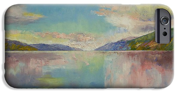 Valhalla IPhone Case by Michael Creese