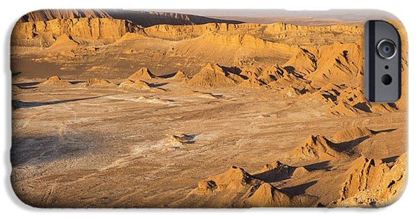 Valle De La Luna IPhone Case by Peter J. Raymond