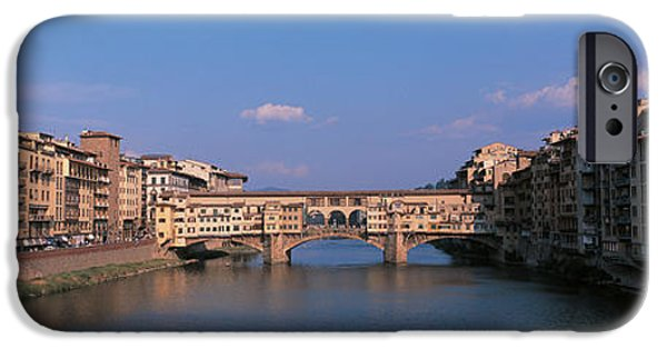 Vecchio Bridge Florence Italy IPhone Case by Panoramic Images