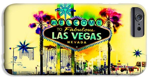 Vegas Weekends IPhone Case by Az Jackson