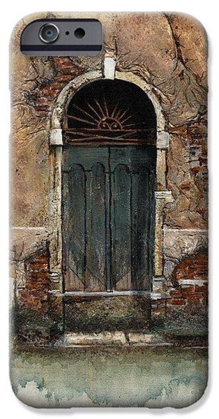 Venetian Door 01 Elena Yakubovich IPhone 6s Case by Elena Yakubovich