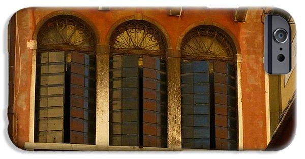 Venetian Shutters IPhone Case by Connie Handscomb