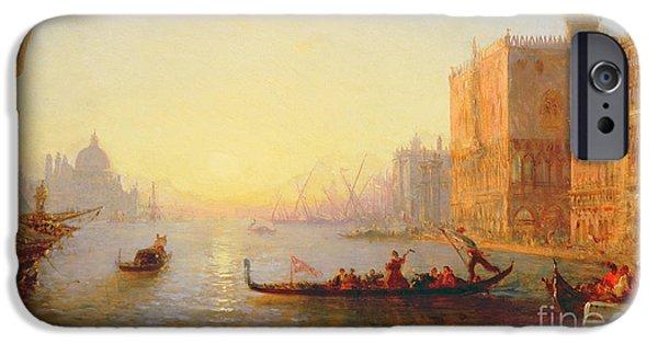 Venice Evening IPhone Case by Felix Ziem