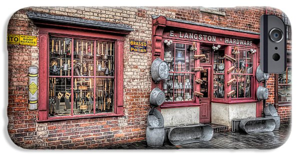 Victorian Stores England IPhone Case by Adrian Evans