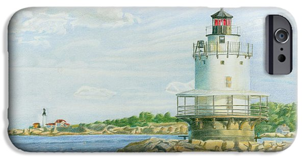 View From Casco Bay Ferry IPhone Case by Dominic White