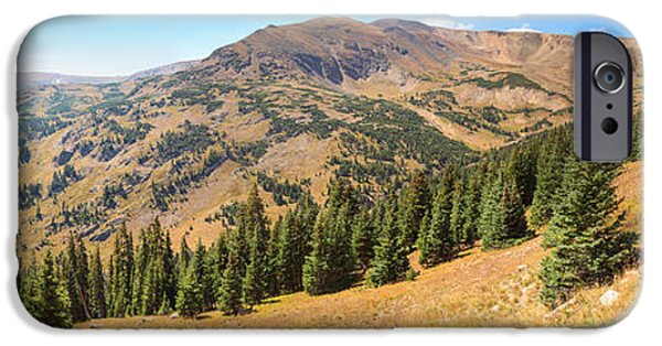 View From Old Fall River Road IPhone Case by Panoramic Images
