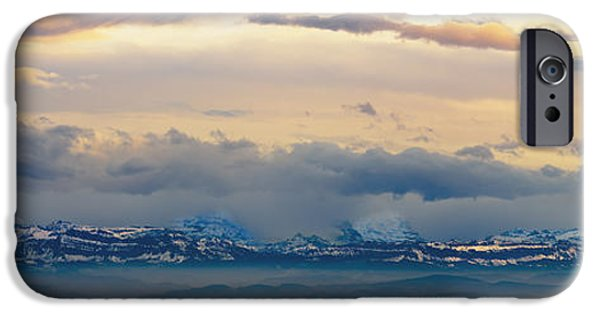 View Of The Alpsjura Switzerland IPhone Case by Yves Marcoux