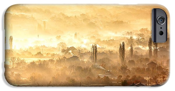 Village Of Gold IPhone Case by Evgeni Dinev