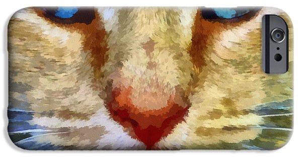 Vincent IPhone Case by Michelle Calkins