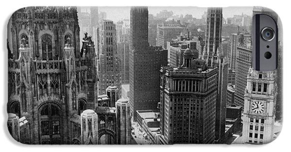 Vintage Chicago Skyline IPhone 6s Case by Horsch Gallery