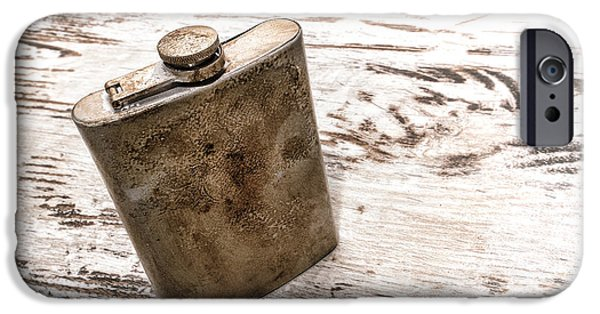 Vintage Flask IPhone 6s Case by Olivier Le Queinec