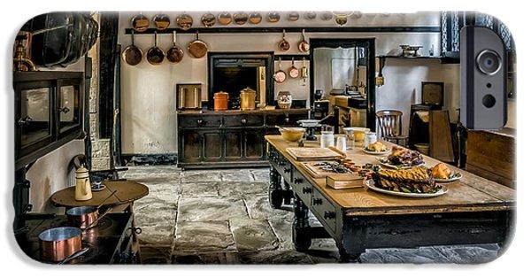 Vintage Kitchen IPhone Case by Adrian Evans