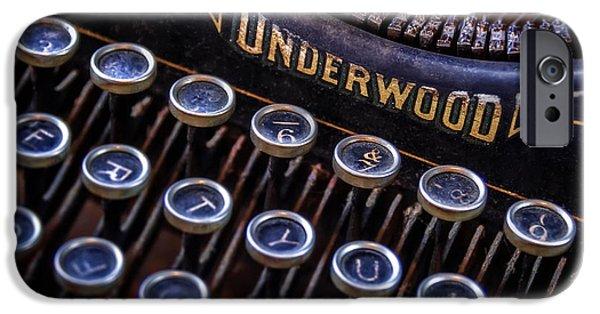 Vintage Typewriter 2 IPhone Case by Scott Norris