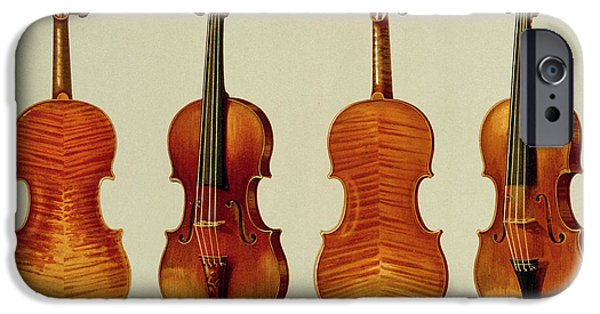 Violins IPhone 6s Case by Alfred James Hipkins