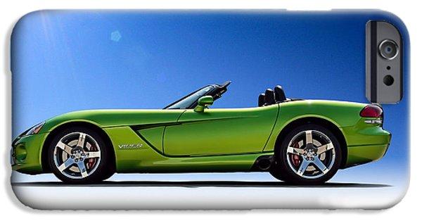 Viper Roadster IPhone Case by Douglas Pittman