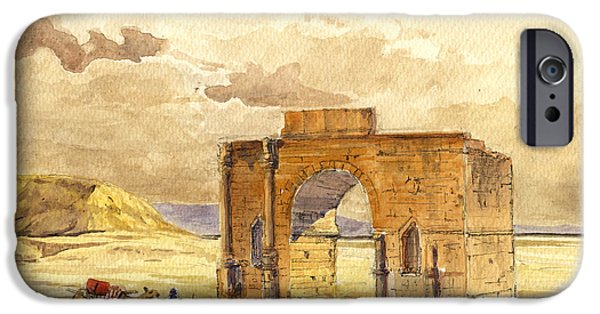 Volubilis Mecknes Ruins IPhone Case by Juan  Bosco
