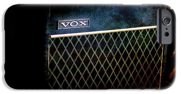 Vox Guitar Amplifier IPhone Case by Gunter Nezhoda