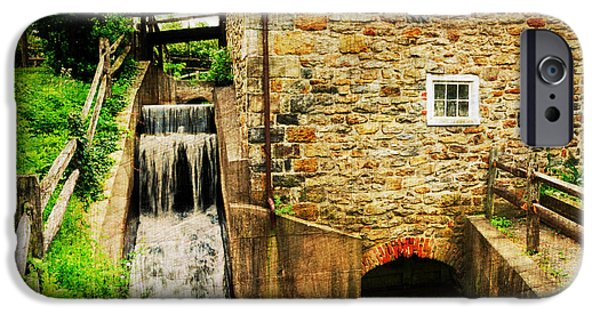 Wagner Grist Mill IPhone Case by Paul Ward