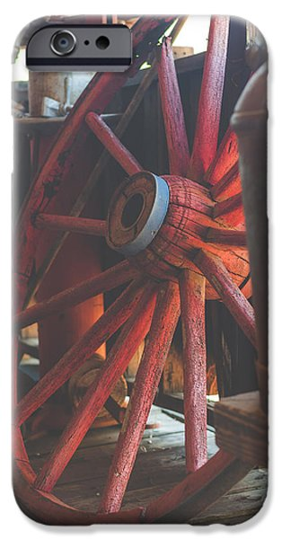 Wagon Wheel IPhone Case by AJ Goldian