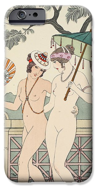 Walking Around Naked As Much As We Can IPhone Case by Joseph Kuhn-Regnier